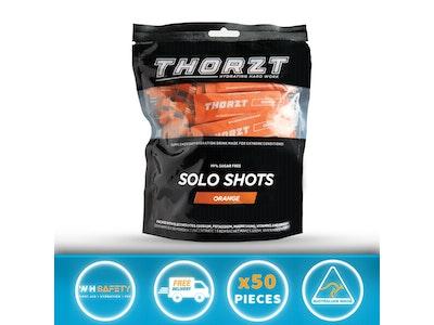 Thorzt Sugar-Free Solo Shot Electrolyte - Orange 50 x 3g
