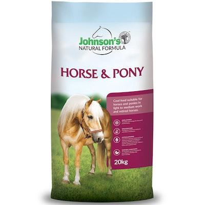 Johnson''s Johnsons Horse & Pony Natural Formula Complete Feed 20kg