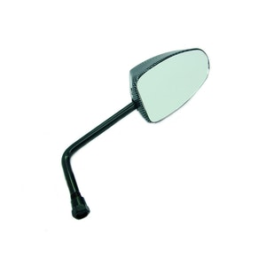 Single Carbon Style Mirror - 8 MM
