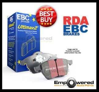 EBC ULTIMAX PREMIUM FRONT BRAKE PADS for Tata XENON 2.2TD 1/2009 on DPX2072