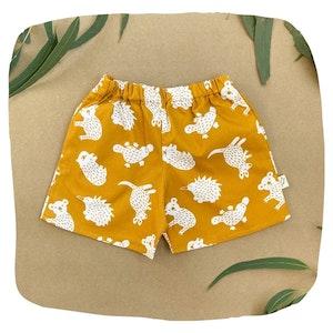 Mustard Little Aussie Shorts