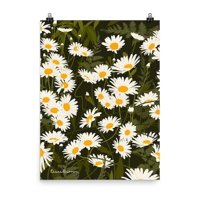 Symbolic Studio Wild daisies print
