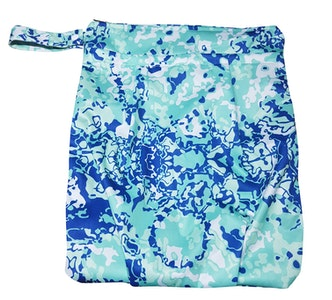 Premium Double Pocket Wetbag: Tropical Waters
