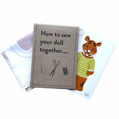 Karen Erasmus Designs Sew Together Doll – Tiger