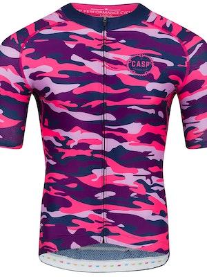 Casp Performance Cycling Camo Jersey