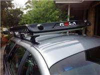 Impressive Rola XL Luggage Tray boosts icon Falcon wagons camping flexibility