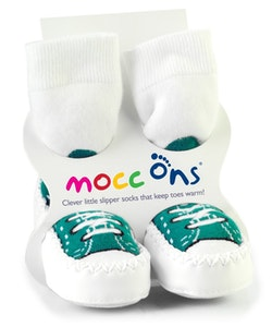 Sock Ons MOCC ONS Turquoise  Sneaker 18-24
