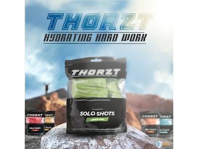WH Safe Thorzt Sugar-Free Solo Shot Electrolyte - Lemon Lime 50 x 3g
