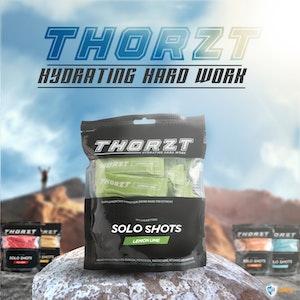 WH Safe Thorzt Sugar-Free Solo Shot Electrolytes - Lemon Lime 50 x 3g