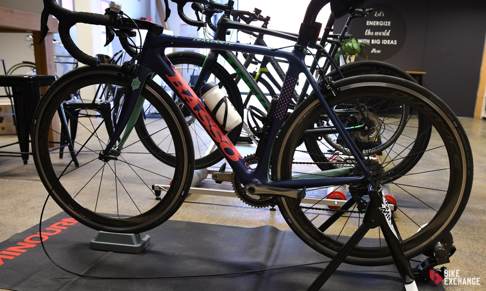 indoor trainer buyers guide bikeexchange tyre drive bike