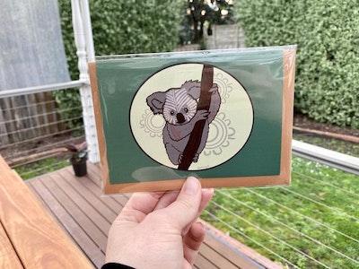 Yarli Creative Aboriginal Art - Greeting Cards GURBURR