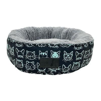 La Doggie Vita Kitty Club Black Cat Donut