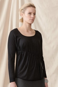 Quillan Geranium Top - Hemp/organic cotton stretch knit