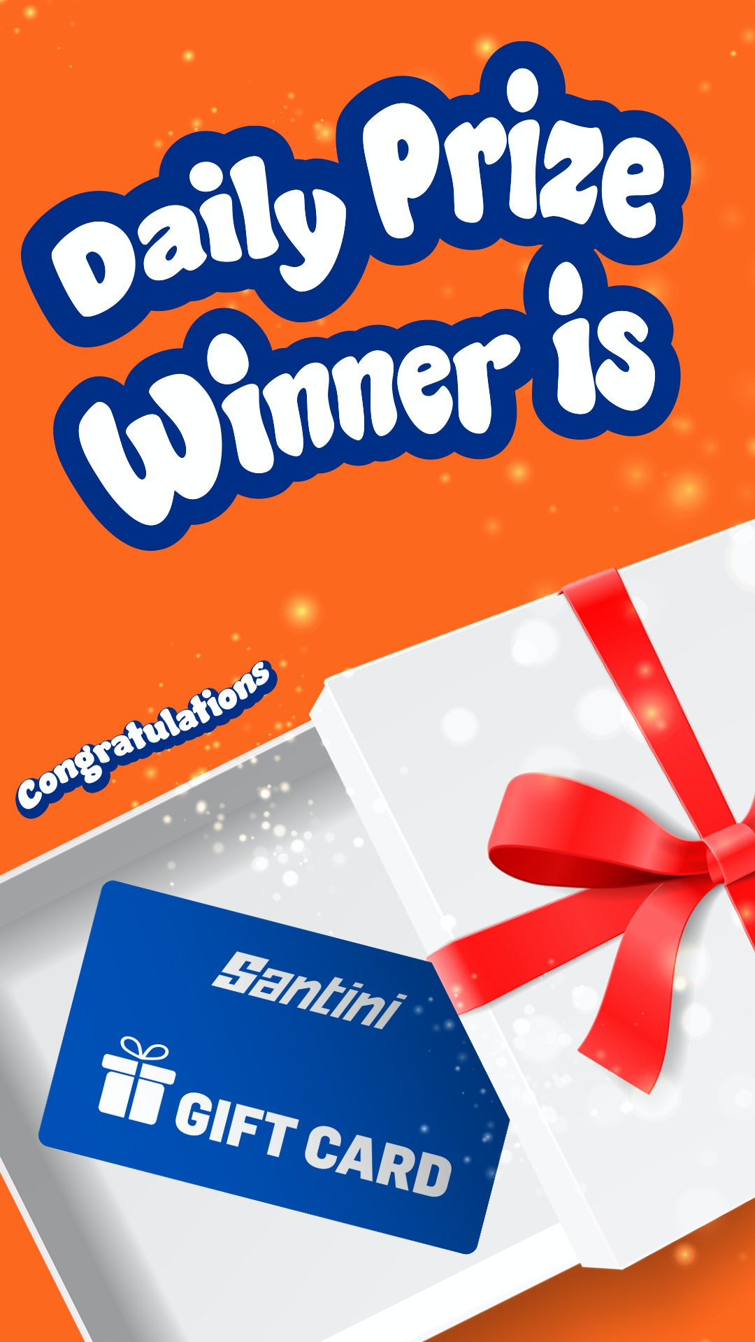 Santini Gift Card