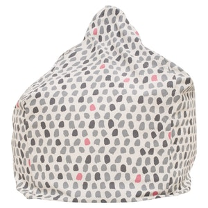 Play Pouch Splotches Bean Bag - Pink & Grey