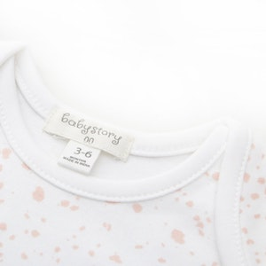 Babystory Singlet - Sparkle in pink