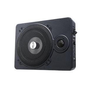 600W Black Car Subwoofer 10 Inch Ultrathin Speaker Amplifier Underseat