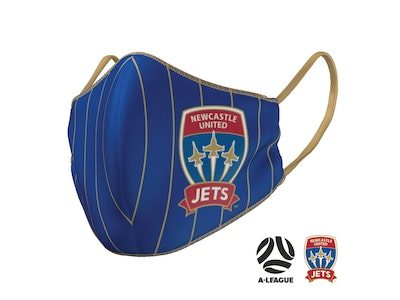 The Mask Life Newcastle Jets Face Mask
