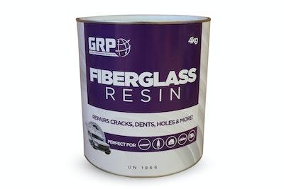 Fibreglass Polyester Resin & Hardener 4Lt