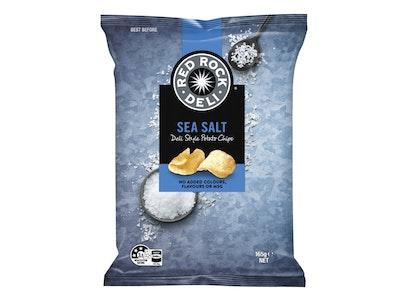 Red Rock Deli Sea Salt Potato Chips 165g
