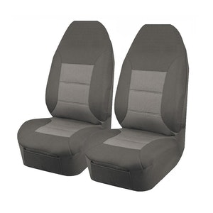 Universal Premium Front Seat Covers Size 60/25 | Grey