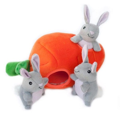 Zippy Paws Zippy Burrow - Bunny n Carrot