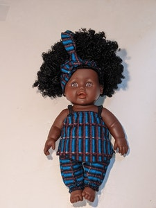 Designed by Florence Nne Eno Doll