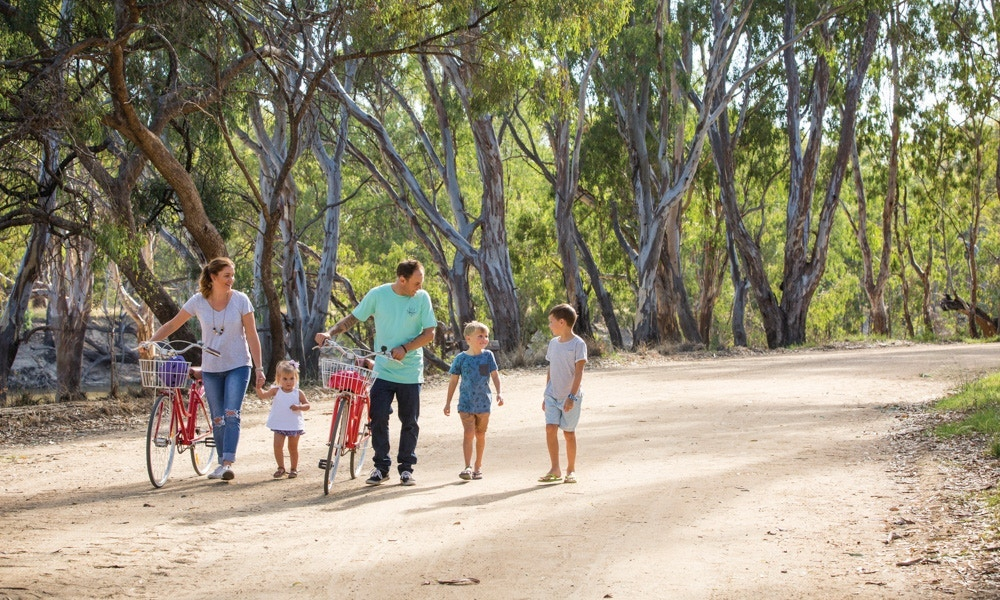 The Best Family Cycling Getaways in New South Wales