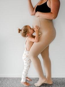 Bubba Bump Baby Adjustable Maternity Tights