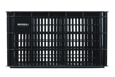 Basil Bicycle Crate Large 50L Black