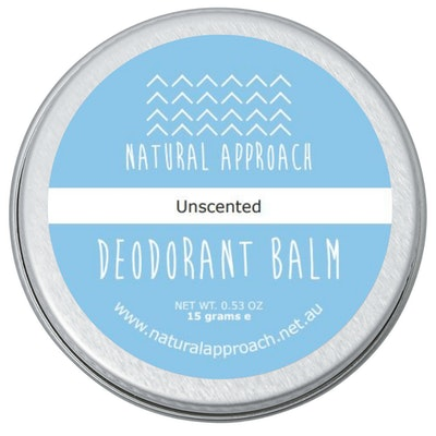Natural Approach 15g - Unscented - Natural Deodorant