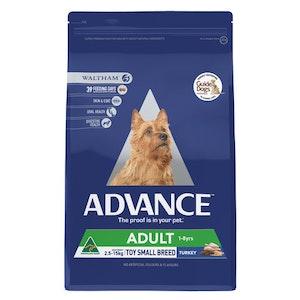 Advance Dog Food, Adult Small Breed 1-8 years, Turkey