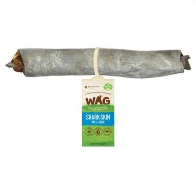 WAG Shark Skin Roll Dog Treat Large