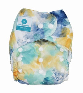 Snap Bare Essentials One Size Fits Most Nappy - Splash