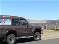 GoSeeAustralias restored 1985 Sahara climbs fresh heights Snowy Mts