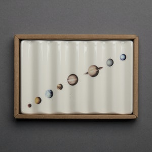 Soap Dish with Planets