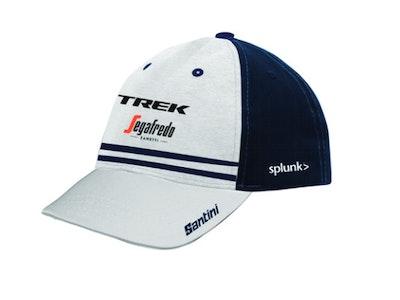 Santini Trek Segafredo Trucker Cap White/Blue