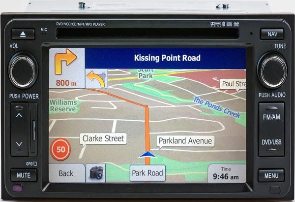 Polaris In Dash GPS/Multimedia unit to suit most Toyota vehicles