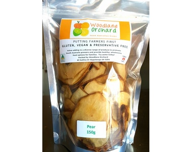 Preservative Free Dried Pear
