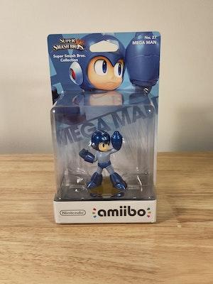 Mega Man Amiibo Smash Bros