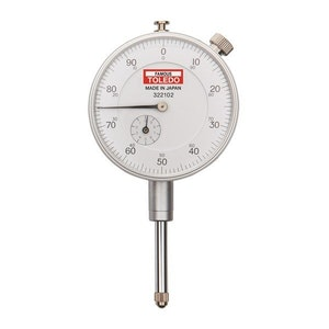 """Toledo Imperial Analogue Dial Gauge - 0.001x1"""""""