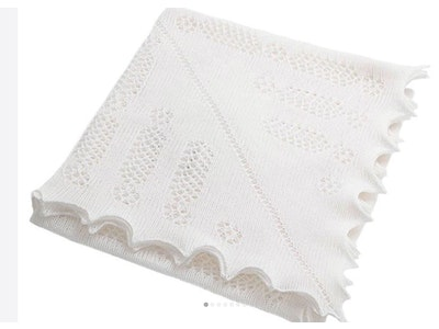Nottingham Lace Knitted Shawl by GH Hurt