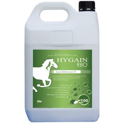 Hygain Rice Bran Oil Horses Performance Supplement 5L