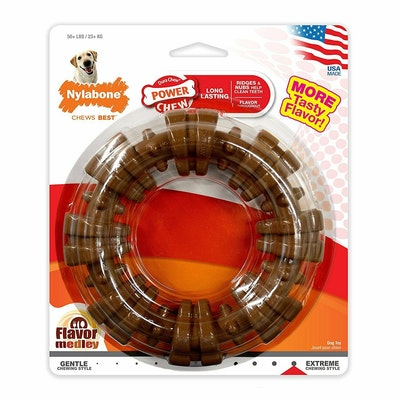 Nylabone Dura Chew Textured Ring Toy