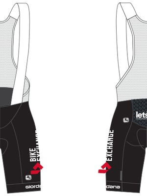 Giordana Women's Team BikeExchange Vero Pro Bib Shorts