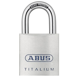ABUS Titalium Padlock 80TI/60 KD
