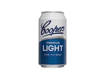 Coopers Premium Light Can 375mL