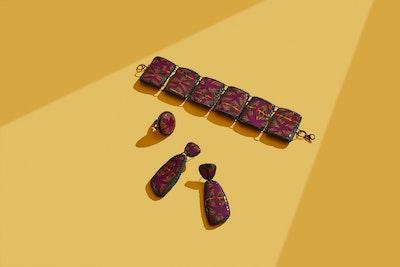 Miss_Mary_jewellery Set Kaleidoscope Effect