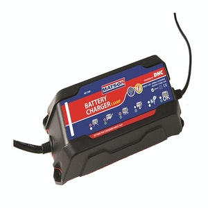 Matson 12 volt 1.5amp Battery Charger 5 Stage Charging LED Status
