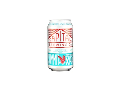 Capital Brewing Co. Session XPA Can 375mL
